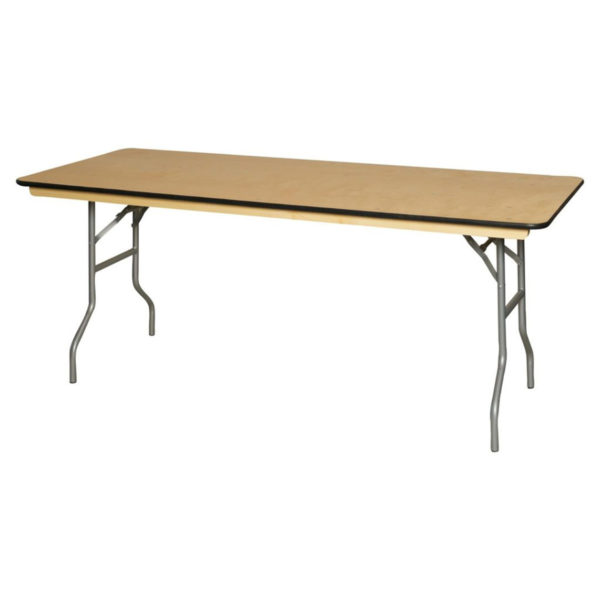 6-foot-banquet-wood-table