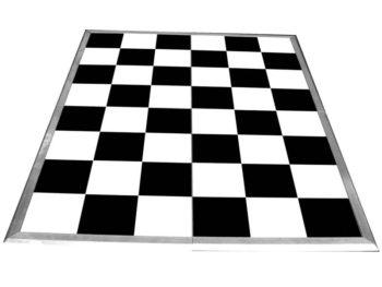 Black-&-White Dance Floor