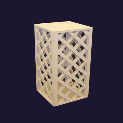 LATTICE DISPLAY RISERS