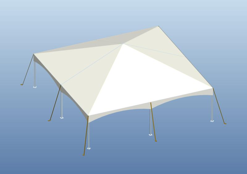 40 x 40 structured frame tent signature. Black Bedroom Furniture Sets. Home Design Ideas
