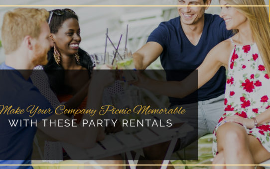 Make Your Company Picnic Memorable With These Party Rentals