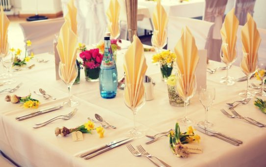 Three Things to Consider for Your Tables and Chairs Rental