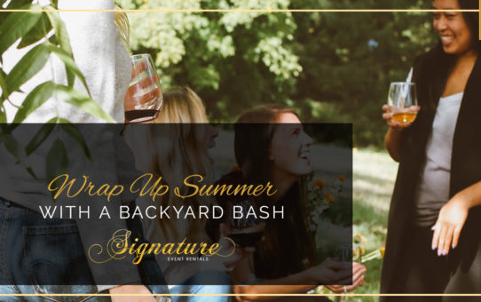 Wrap Up Summer With A Backyard Bash