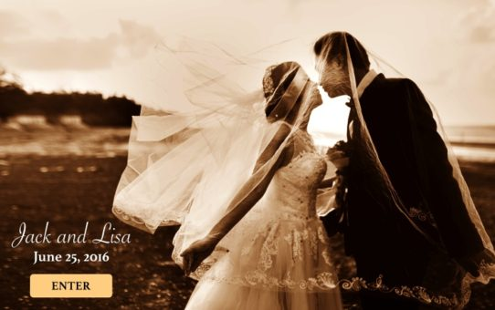 Creating a Wedding Website to Store Your Precious Memories